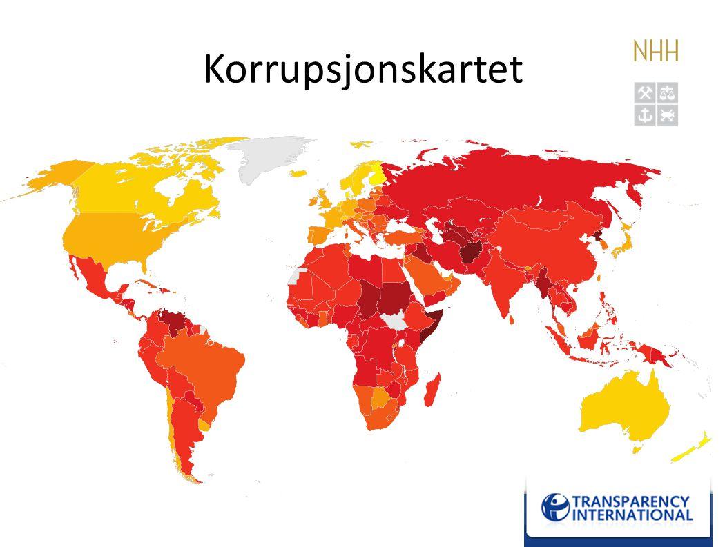 Korrupsjonskartet