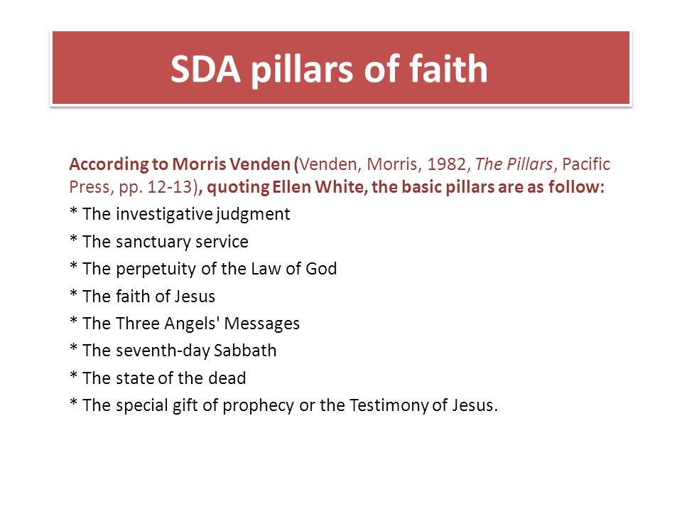 SDA pillars of faith