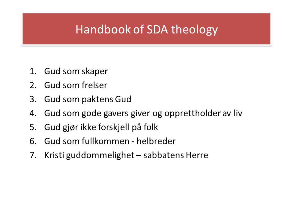Handbook of SDA theology