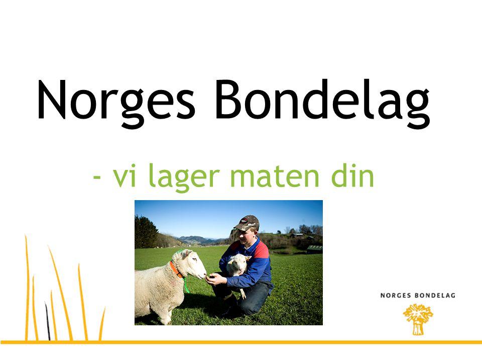 Norges Bondelag - vi lager maten din