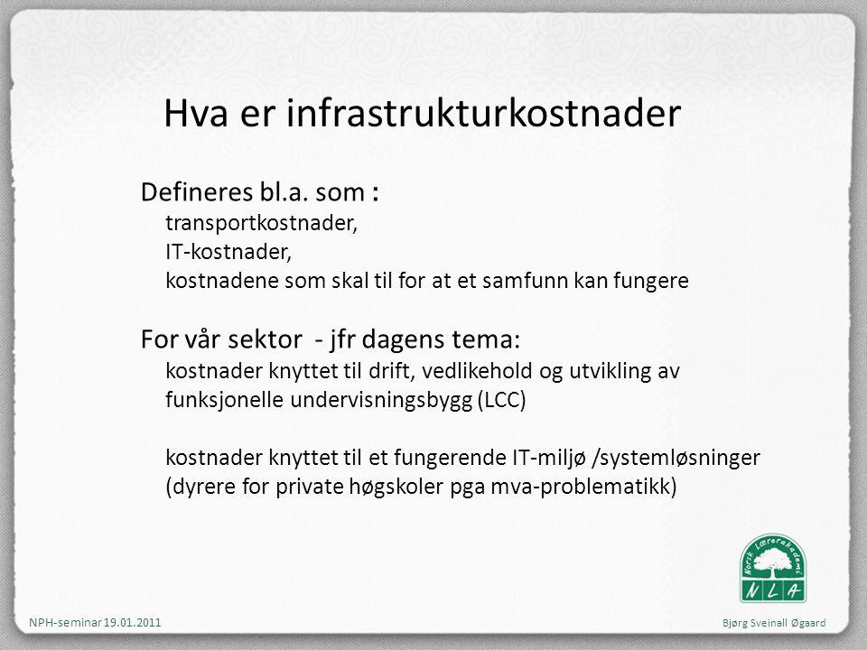 Hva er infrastrukturkostnader
