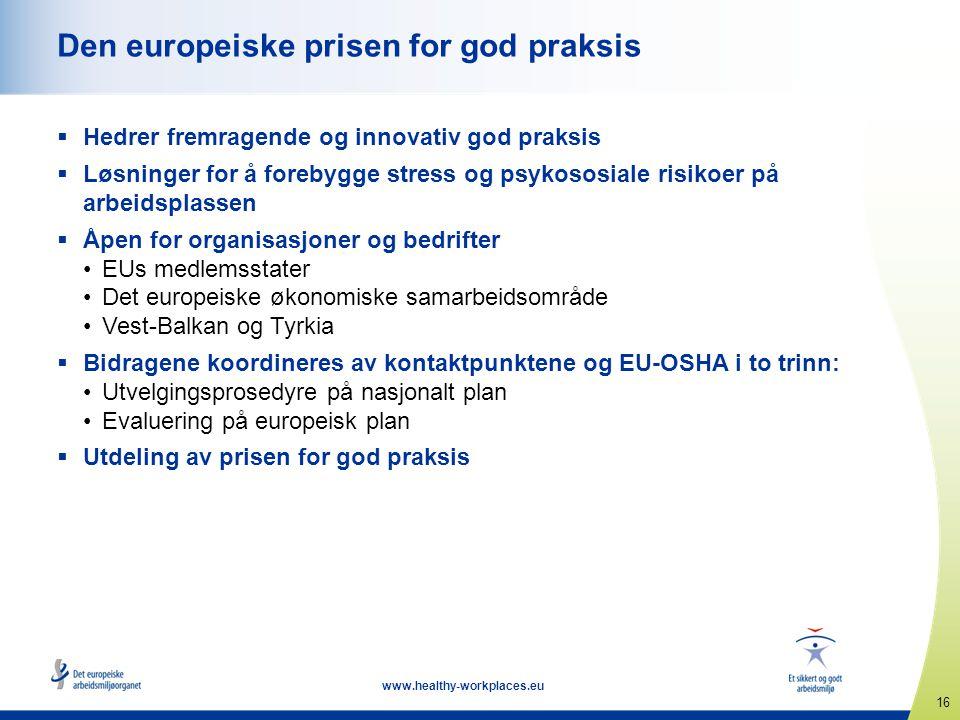 Den europeiske prisen for god praksis