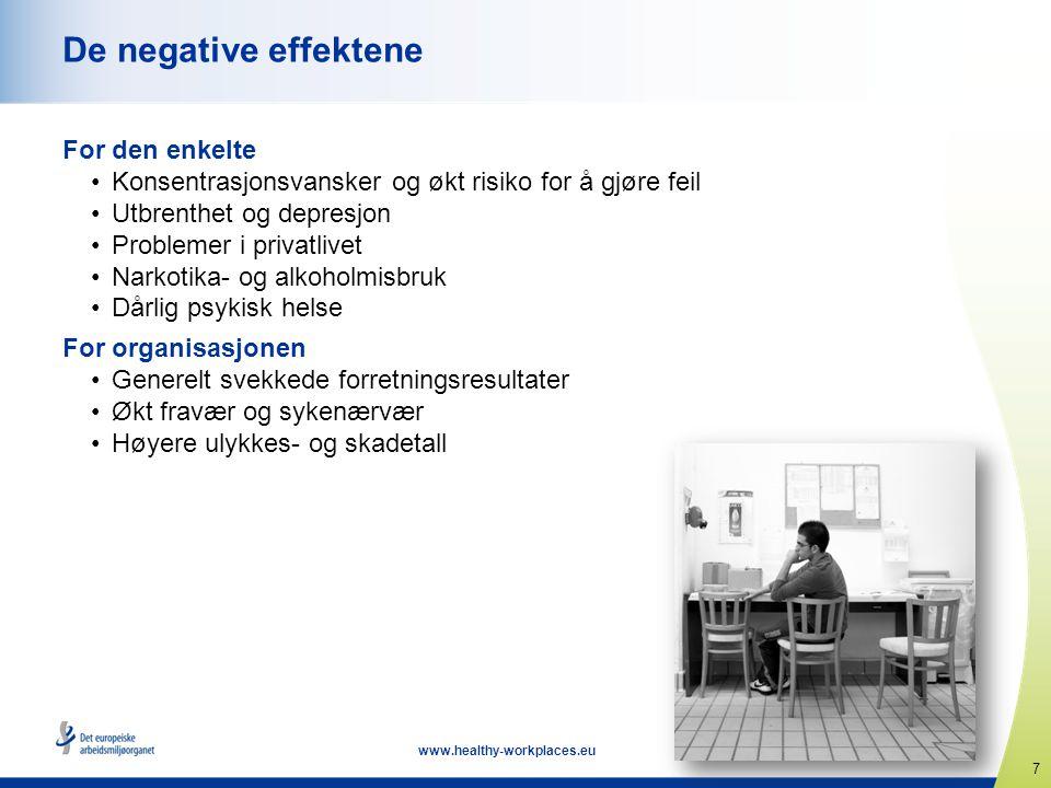 De negative effektene For den enkelte