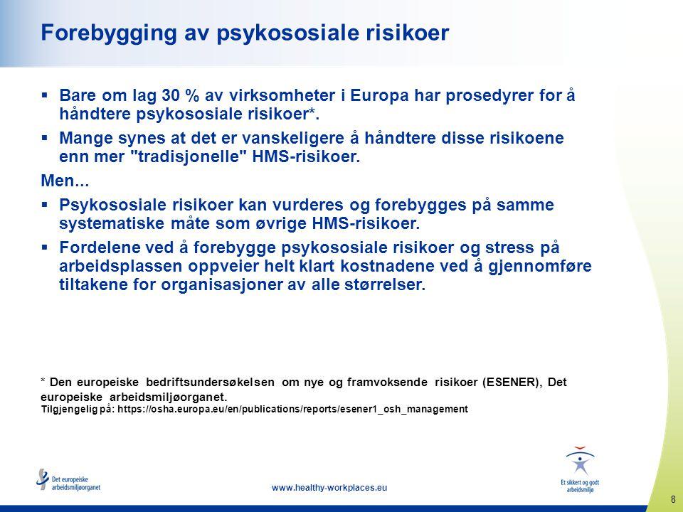 Forebygging av psykososiale risikoer