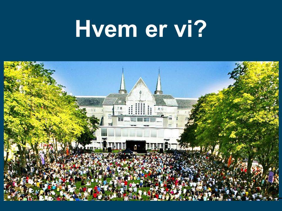 Hvem er vi Universell utforming av læringsmiljø, Trondheim 2012