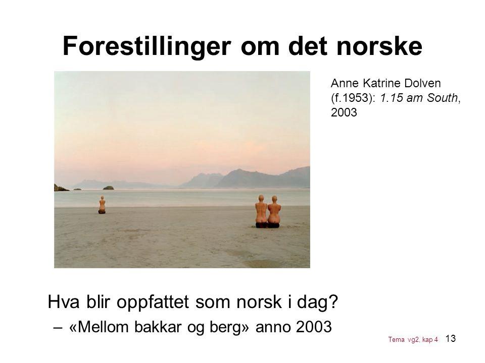 Forestillinger om det norske