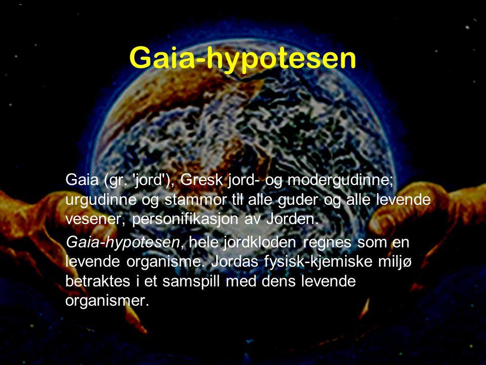 Gaia-hypotesen