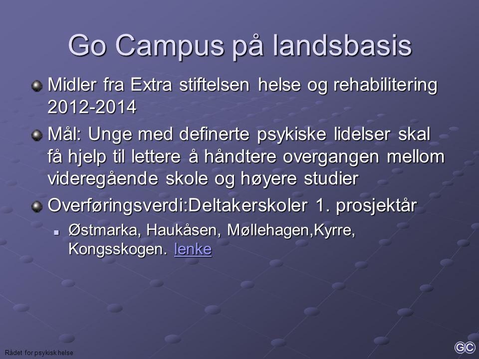 Go Campus på landsbasis