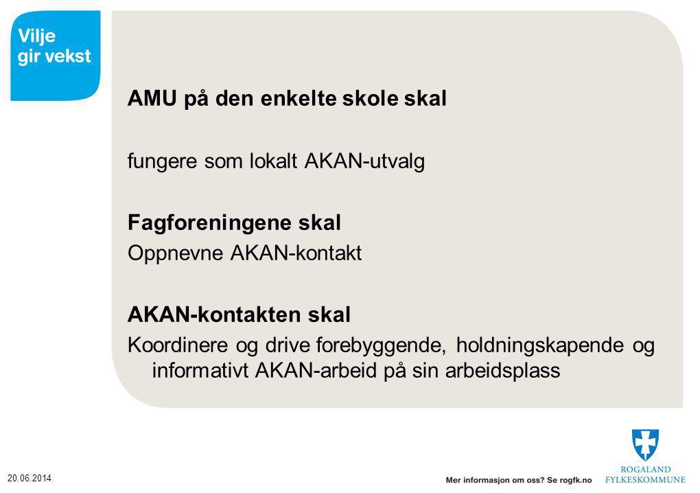 AMU på den enkelte skole skal