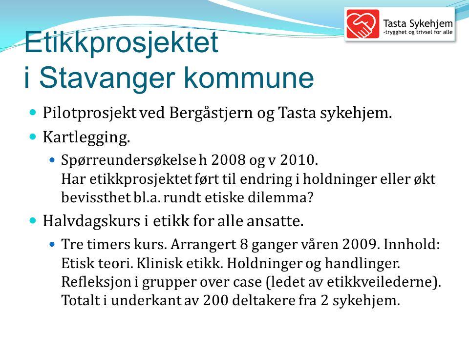 Etikkprosjektet i Stavanger kommune