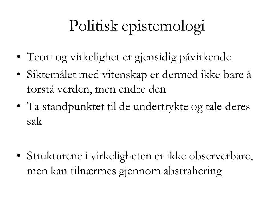 Politisk epistemologi