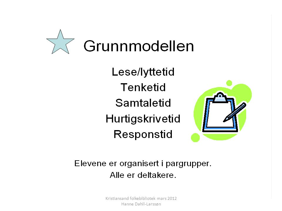 Kristiansand folkebibliotek mars 2012 Hanne Dahll-Larssøn