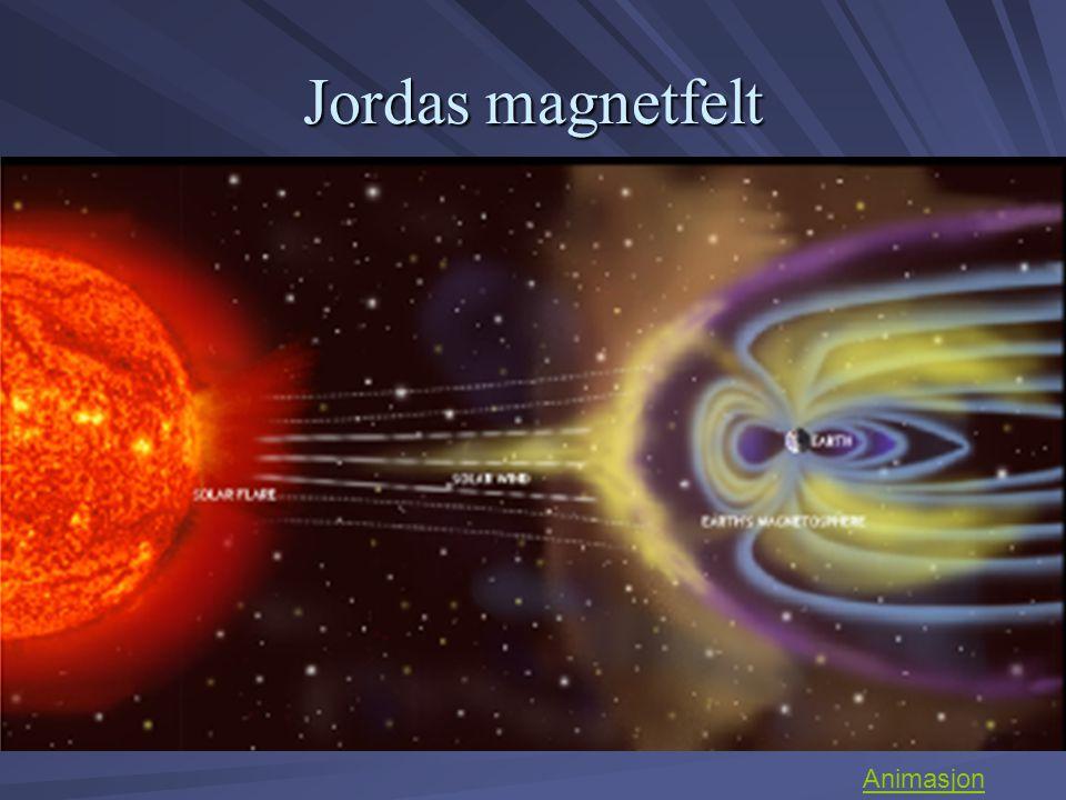 Jordas magnetfelt Animasjon