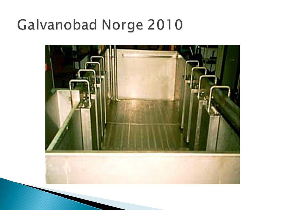 Galvanobad Norge 2010