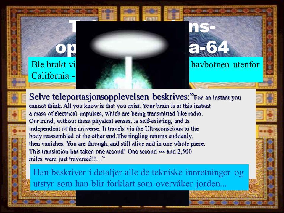 Teleportasjons-opplevelsen fra-64
