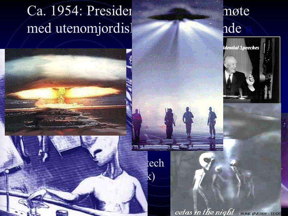 Ca. 1954: President Eisenhowers møte