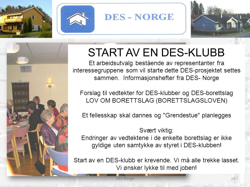 START AV EN DES-KLUBB