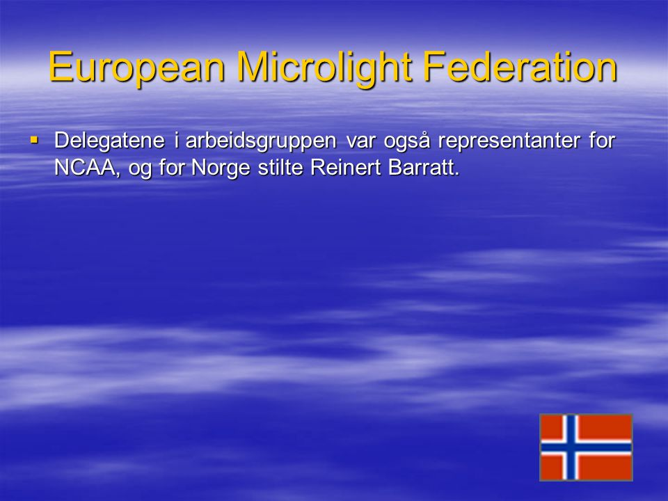 European Microlight Federation