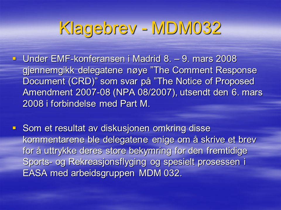 Klagebrev - MDM032