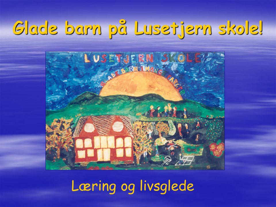 Glade barn på Lusetjern skole!
