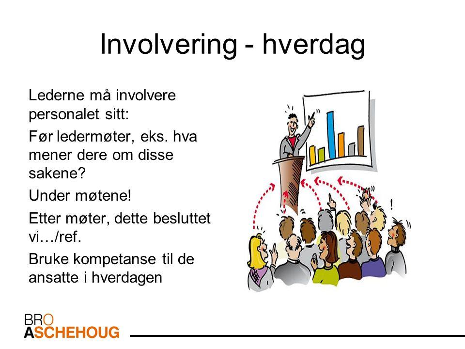 Involvering - hverdag