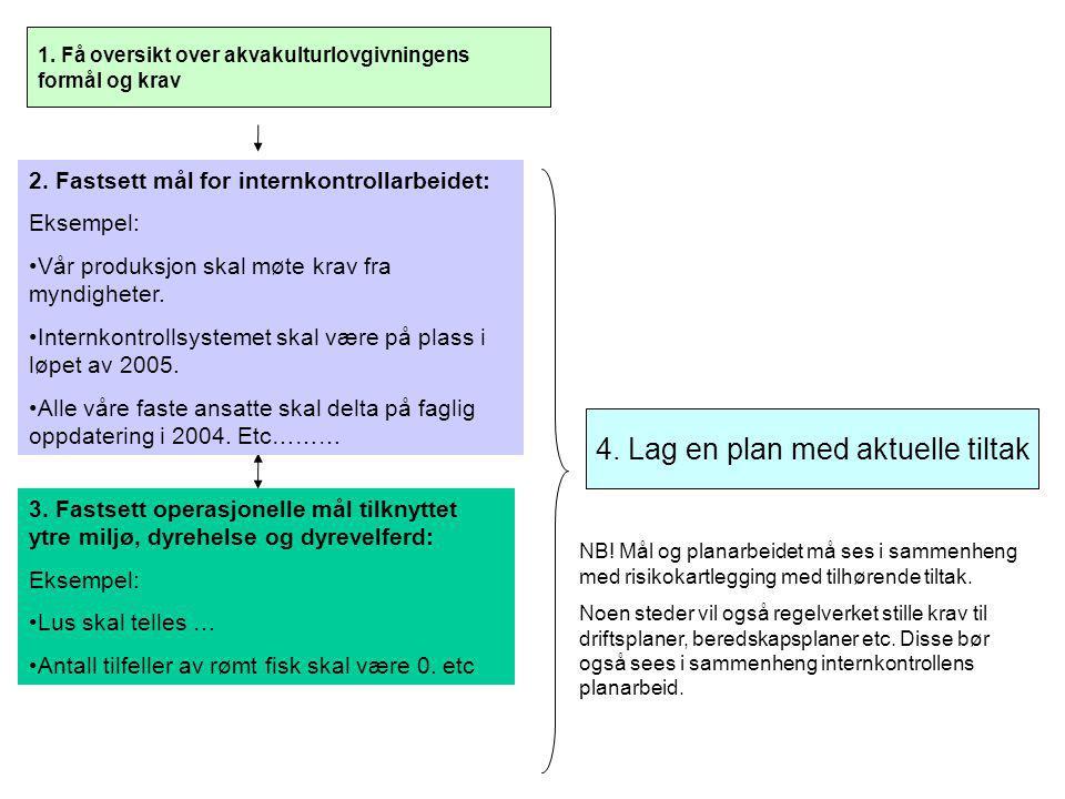 4. Lag en plan med aktuelle tiltak