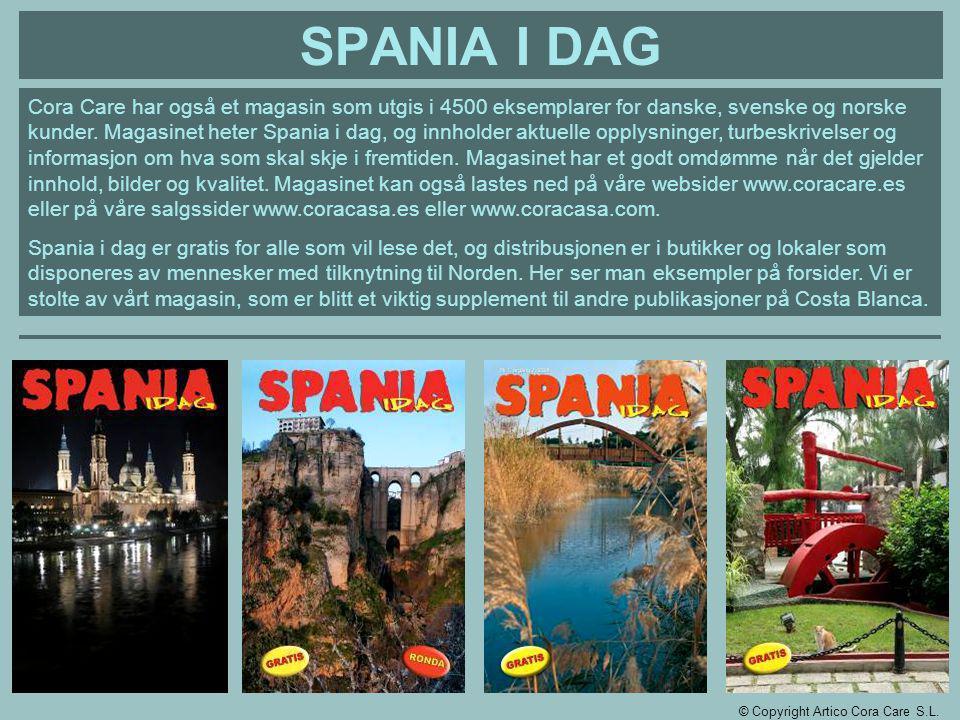 SPANIA I DAG