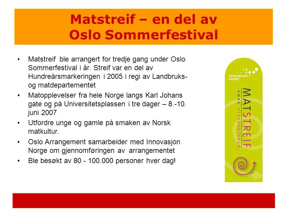 Matstreif – en del av Oslo Sommerfestival