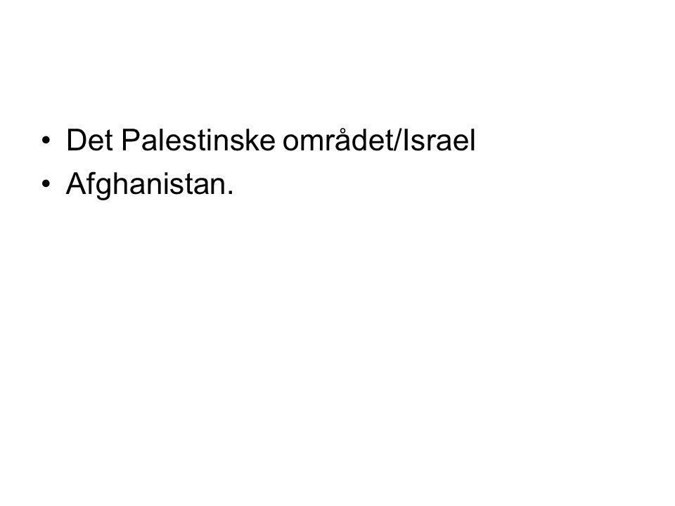 Det Palestinske området/Israel