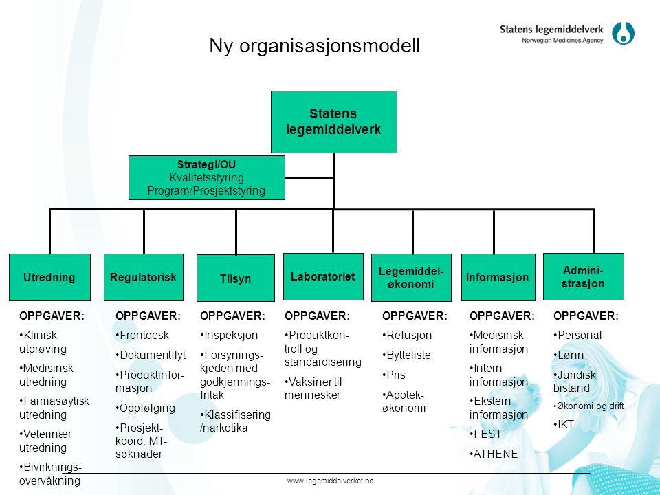 Ny organisasjonsmodell