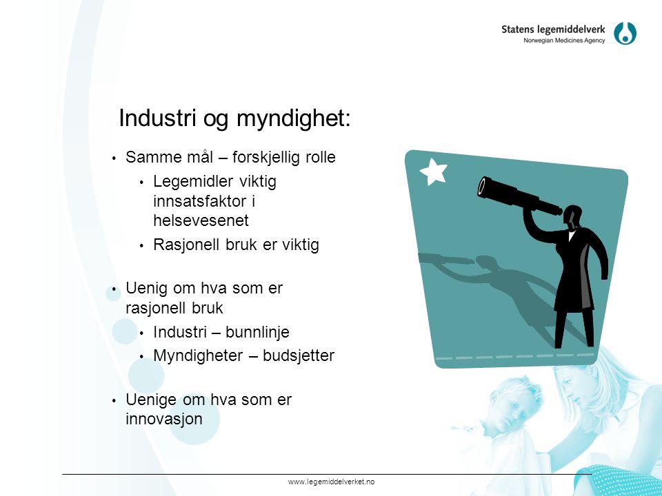Industri og myndighet:
