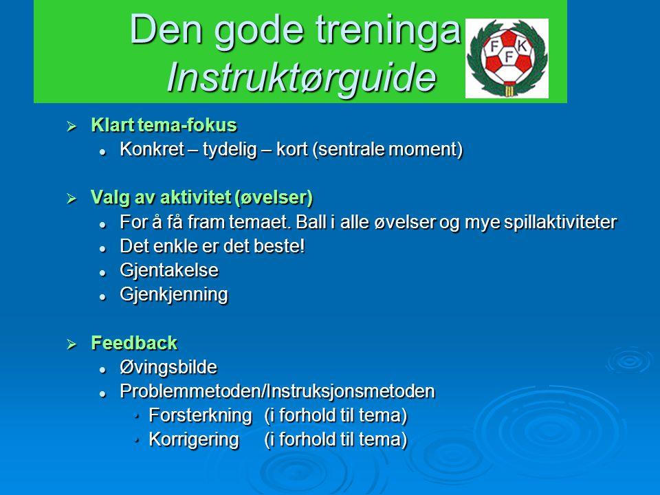 Den gode treninga: Instruktørguide