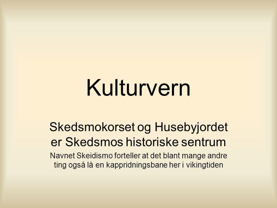 Skedsmokorset og Husebyjordet er Skedsmos historiske sentrum
