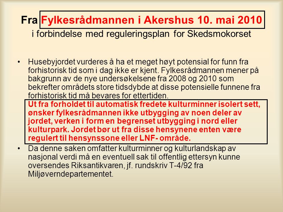 Fra Fylkesrådmannen i Akershus 10