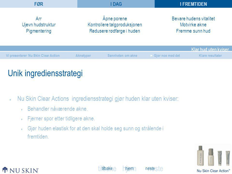 Unik ingrediensstrategi