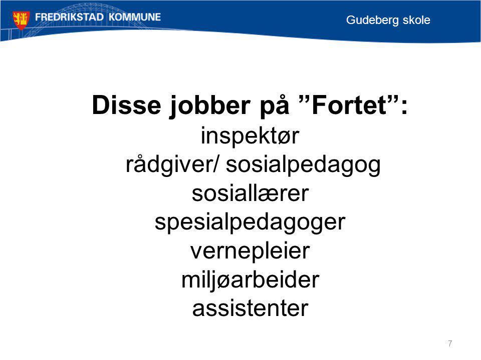 Disse jobber på Fortet :