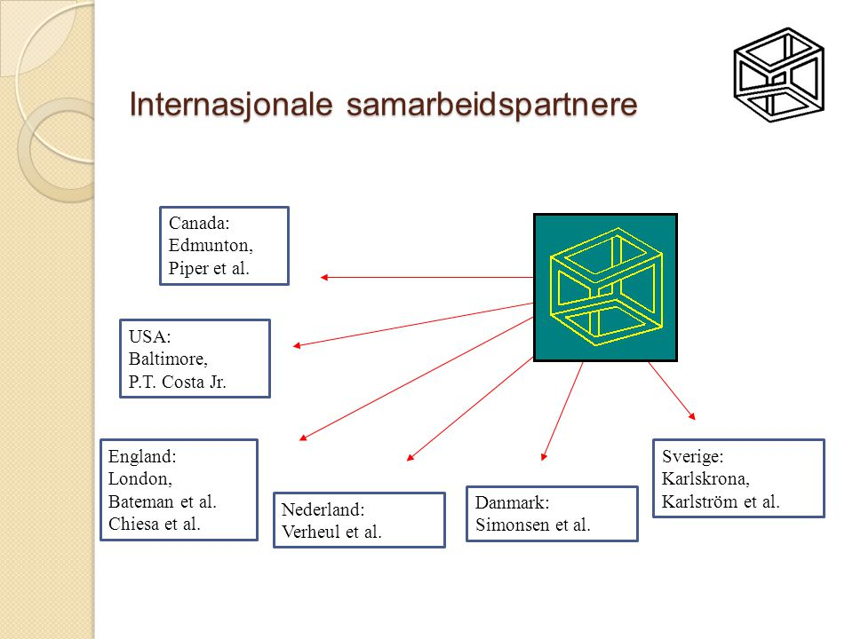Internasjonale samarbeidspartnere