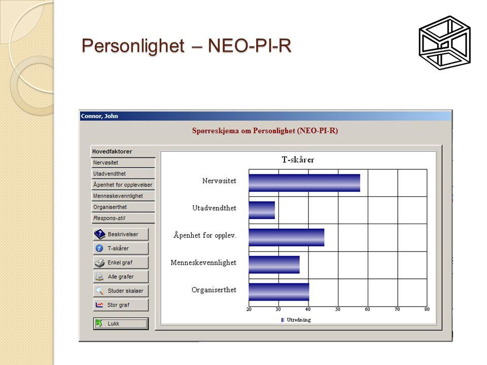 Personlighet – NEO-PI-R