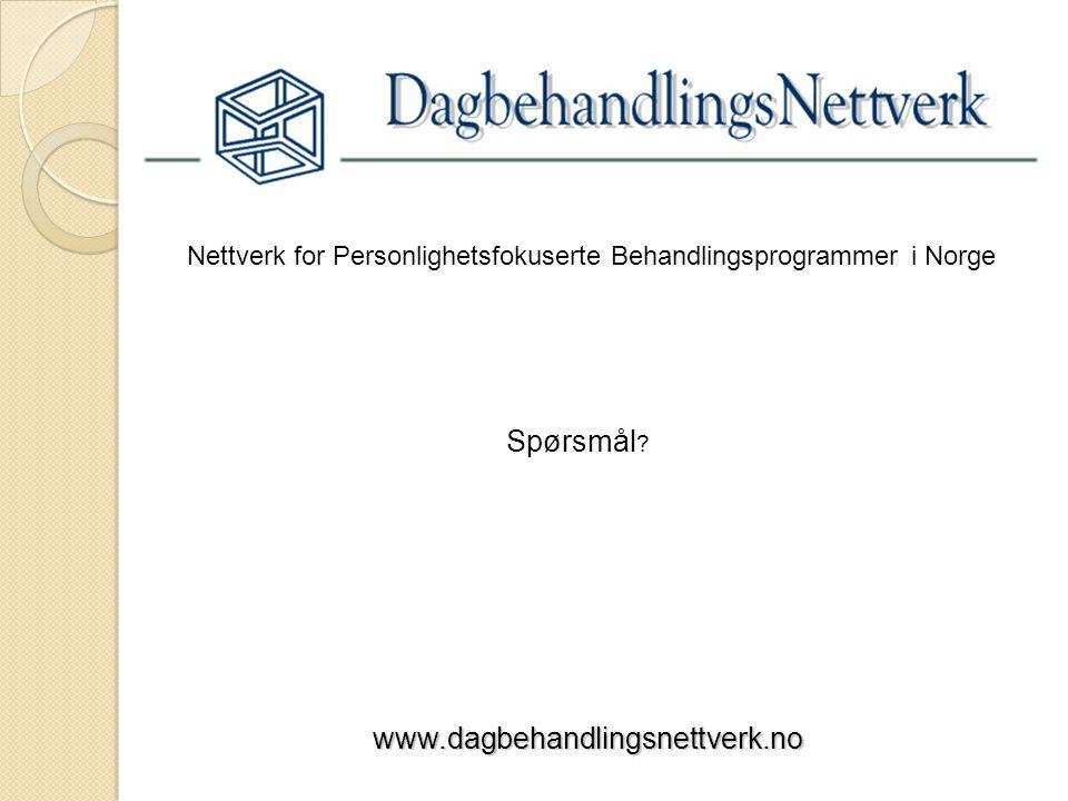 Nettverk for Personlighetsfokuserte Behandlingsprogrammer i Norge
