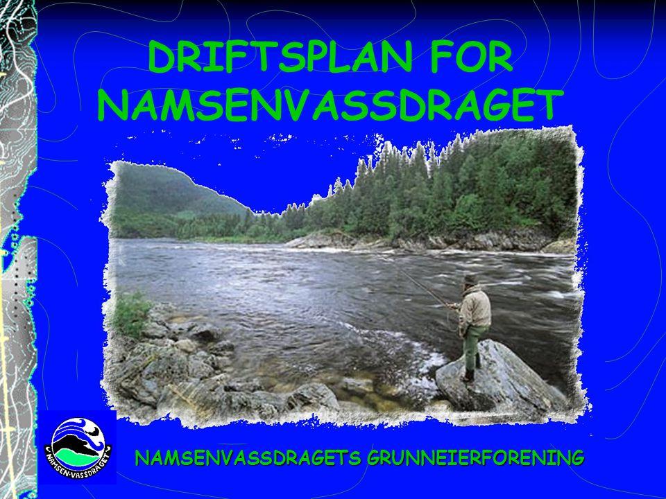 DRIFTSPLAN FOR NAMSENVASSDRAGET