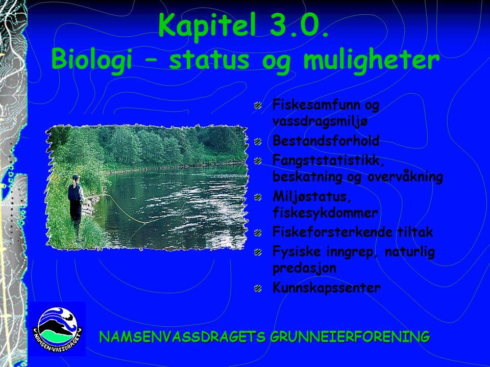 Kapitel 3.0. Biologi – status og muligheter