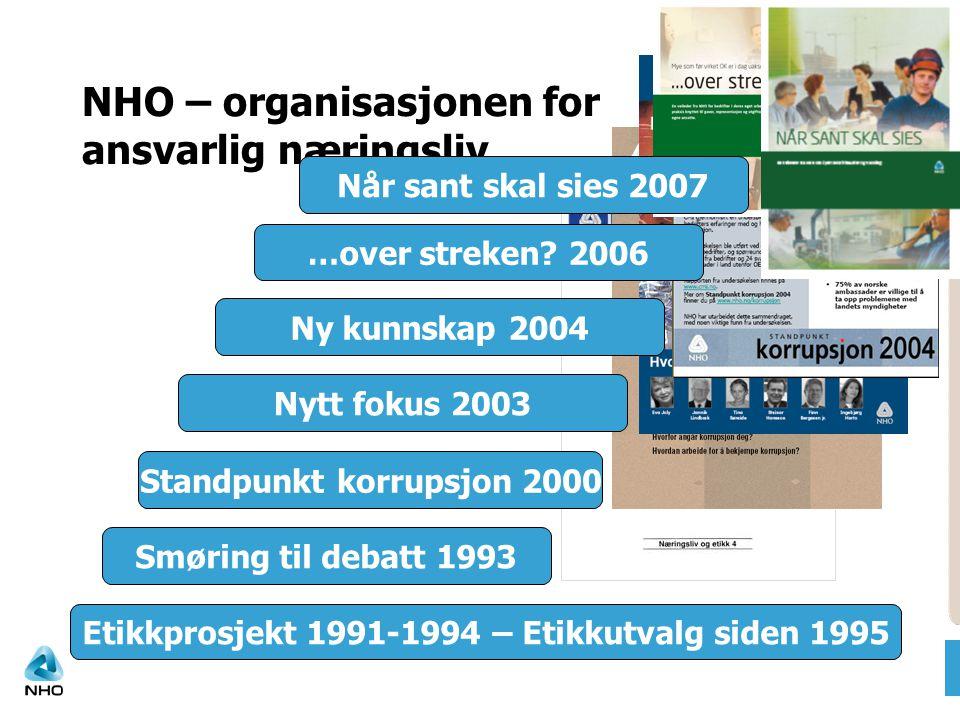 NHO – organisasjonen for ansvarlig næringsliv