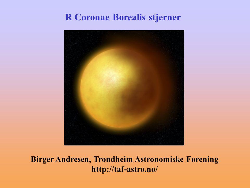 R Coronae Borealis stjerner