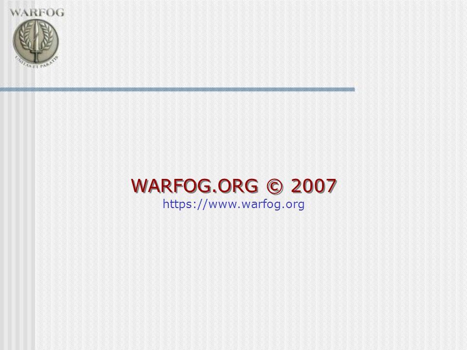 WARFOG.ORG © 2007 https://www.warfog.org