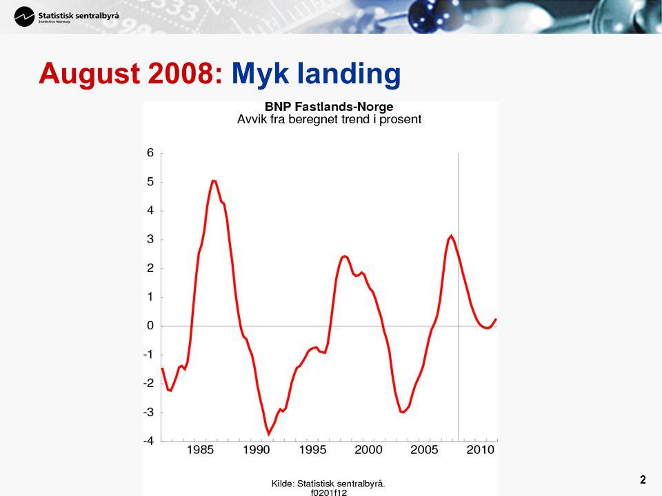 August 2008: Myk landing