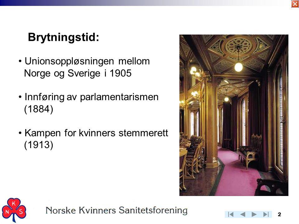 Brytningstid: Unionsoppløsningen mellom Norge og Sverige i 1905