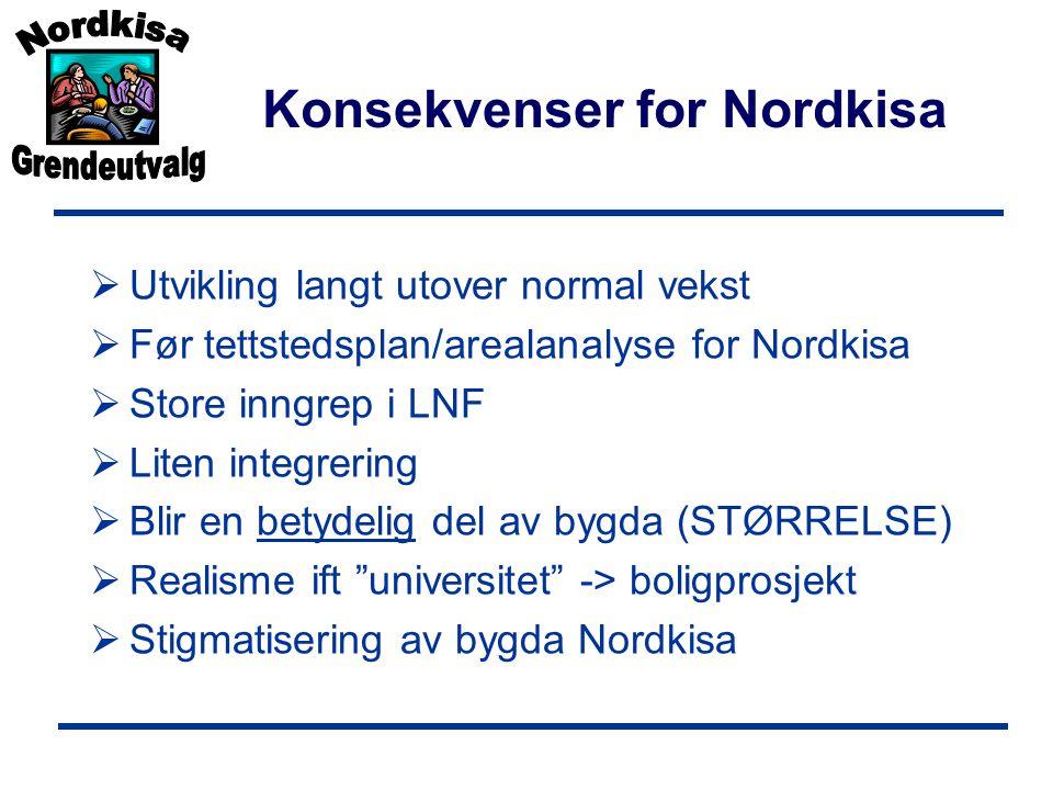 Konsekvenser for Nordkisa