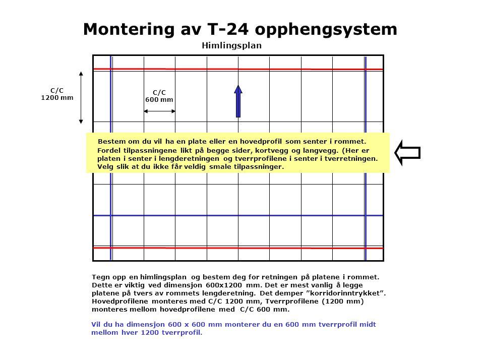 Montering av T-24 opphengsystem