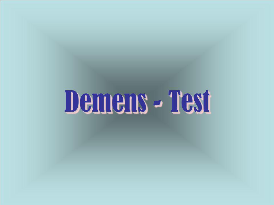 Demens - Test