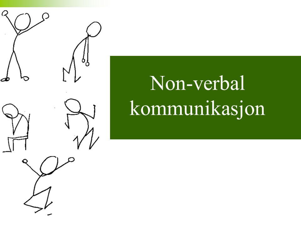 Non-verbal kommunikasjon